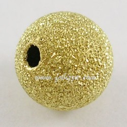 5 τεμ, 10 χλστ διάμετρος, Χαλκός Χάντρα, 10 χλστ διάμετρος, 1,8 τρύπα, Χρυσό
