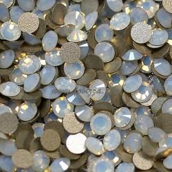 5 γρ/220 περίπου τεμ, 3,2 χλστ, Γυαλί σε σχήμα διαμαντιού, Χωρίς Κόλλα, Ποιότητας Α, Άσπρο