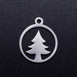 304 Ανοξείδωτο Ατσάλι, Δέντρο, Φλατ Στρογγυλό, Κρεμαστό, Ατσαλιού