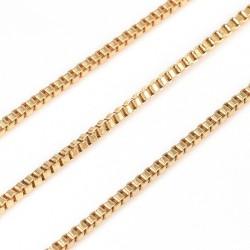 304 Ανοξείδωτο Ατσάλι, Αλυσίδα Box, Χρυσό