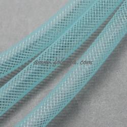5 μέτρα, 4 χλστ, Πλαστικά Δίκτυ σε Κορδόνι, Πλέγμα Σωλήνα, Μπλε Ουρανού