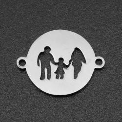 201 Ανοξείδωτο Ατσάλι, Οικογένεια, Φλατ Στρογγυλο με Συνδέσμους, Ατσαλιού