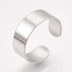 304 Ανοξείδωτο Ατσάλι, Ρυθμιζόμενο Δαχτυλίδι, Ατσαλιού