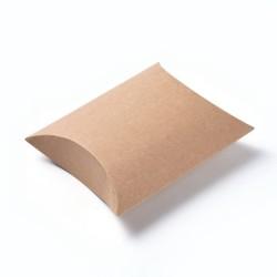 Kraft Κουτί Μαξιλάρι, Ορθογώνιο, Κραφτ