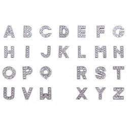 Μεταλλικά Γράμματα, Χάντρα Ολίσθησης, Ασημί