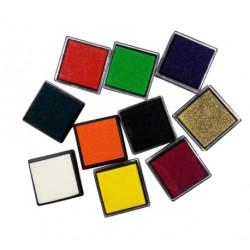 Ταμπλό Μελανιού για Σφραγίδες, Επιλογή Χρώματος