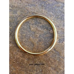 1 τεμ, 69 χλστ διάμετρος, Μεταλλικός Κρίκος, Χρυσό