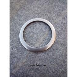 1 τεμ, 48 χλστ διάμετρος, Μεταλλικός, Κρίκος, Ασημί