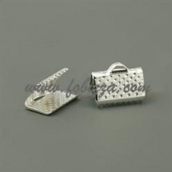 10 τεμ, 10x7x5 χλστ, Τρύπα: 2 χλστ, Συνδετικό Κορδέλας από Σίδηρο, Ασιμή Χρώμα