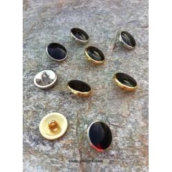 1 τεμ, 15 χλστ, 316 Ανοξείδωτο Ατσάλι, Κουμπιά σε Χρυσό και Ασημί