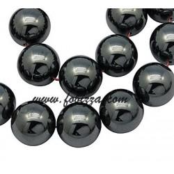 55 τεμ, 8 χλστ, Τρύπα: 1,5 χλστ, Αιματίτης χάντρες σε σκέλος, Μη μαγνητικές, Χρώμα Μαύρο
