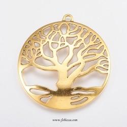 1 τεμ, χλστ, Μεταλλικό, Δέντρο της Ζωής
