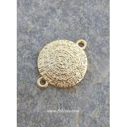 1 τεμ, 25 χλστ, Ορείχαλκος, Δίσκος της Φαιστού, Χρυσό