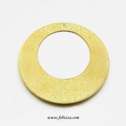 2 τεμ, 51 χλστ, Χαλκός, Flat Στρογγυλό, Κρεμαστό σε Χρυσό