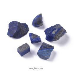 2 τεμ, 19~43 χλστ, Φυσικός Lapis Lazuli, Ημιπολύτιμος Λίθος, Χωρίς Τρύπα,