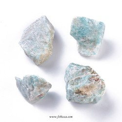 1 τεμ, 33~44 χλστ, Φυσικός Αμαζονίτης, Ημιπολύτιμος Λίθος, Χωρίς Τρύπα
