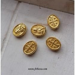 2 τεμ, 10 χλστ, Ορείχαλκος, Κωνσταντινάτο, Χρυσό