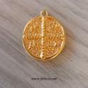 1 τεμ, 21 χλστ, Επιχρυσωμένο Κωνσταντινάτο, Κρεμαστό, σε Χρυσο