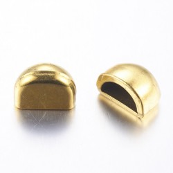 2 τεμ, 13 χλστ, Μεταλλικά Καπάκια, Χρυσό