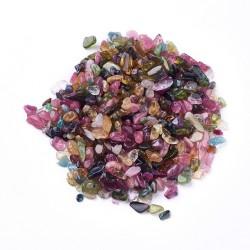 20 γραμ, 3~10 χλστ, Φυσικός Τουρμαλίνης, Chips, Xωρίς Tρύπα, Μικτό Χρώμα