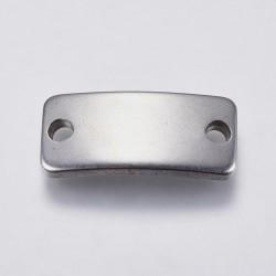1 τεμ, 20x10 χλστ, 304 Aνοξείδωτος Ατσάλι, Ταυτότητα, Ορθογώνιο, Ατσαλιού